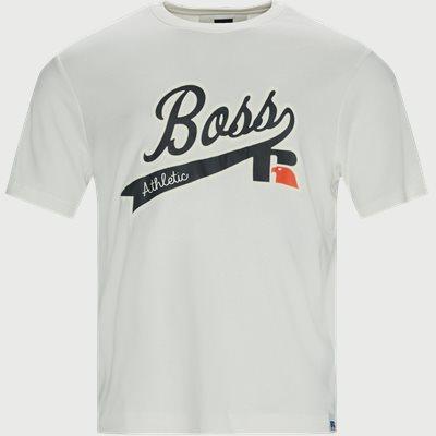 BOSS x Russel T-shirt Regular fit | BOSS x Russel T-shirt | Hvid